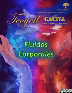 -Teoyotl, Gaceta- Año 2, Número 6. Junio de 2016. Fluidos Corporales