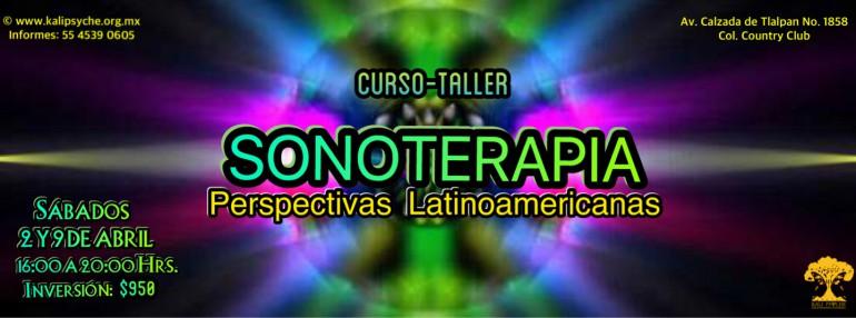 """Curso-Taller """"Sonoterapia: Perspectivas Latinoamericanas"""" - 2 y 9 de abril"""