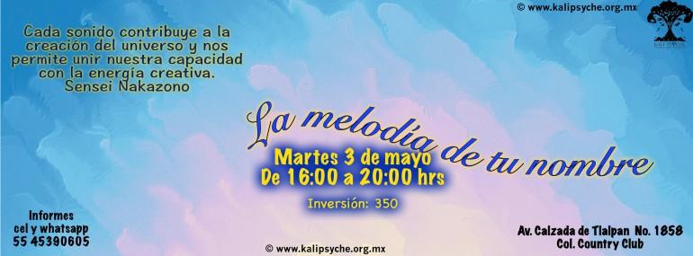 La Melodiìa De Tu Nombre mayo