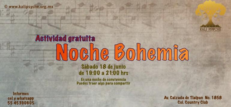 Noche bohemia junio